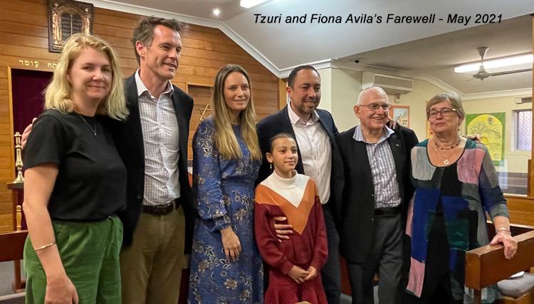Tzuri and Fiona Avila's Farewell - May 2021